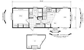 cottage floor plans with loft caretaker cottage 394 sf 11 4 x 33 4 loft house floor plan stairs