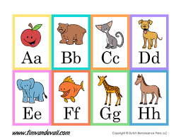 printable alphabet flash cards language arts printables
