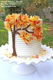 best 25 autumn cake ideas on pinterest tree cakes beautiful