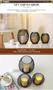 led candle holders decorative bird cages weddings black metal home