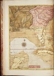 Map Of Carolinas A Map Of Carolina Florida And The Bahama Islands From The