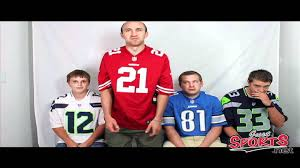 nike nfl jersey review which size to get youtube