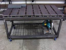 diy welding table plans complete diy welding table and cart ideas 50 designs