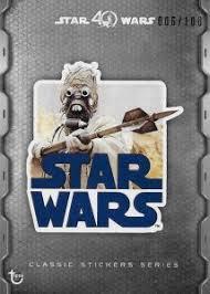 2017 topps star wars 40th anniversary checklist set info boxes