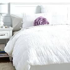 pintuck basal quilt regarding off white duvet cover decor 11 30