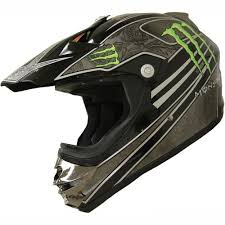monster motocross helmets dot dirt bike atv motocross helmet monster 162 black green large