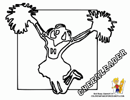 cheerleader alphabet coloring free alphabets 417873 coloring