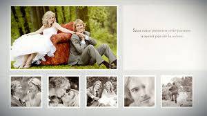 livre photo mariage diaporama photo livre album mariage romantique