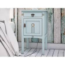 light blue nightstand wayfair