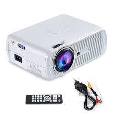 top rated home theater projectors amazon com yuntab portable video mini projector bl80 1200 lumens