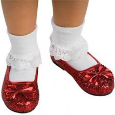 dorothy halloween costumes for kids kids ruby slippers wizard of oz ruby slippers