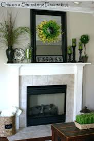 fireplace mantel decorating ideas for everyday mantle christmas
