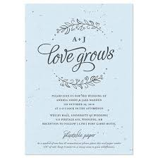 plantable wedding favors seeds of plantable wedding invitation plantable wedding