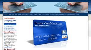 prepaid credit card online access pegcard prepaid credit cards visa prepaid card
