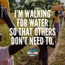 Water Challenge Steps Wateraid Australia On Walk For Water Challenge Begins
