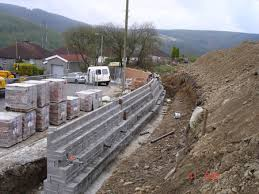 retaining walls portfolio home cardiff builders