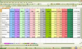 profit loss template excel profit and loss spreadsheet template