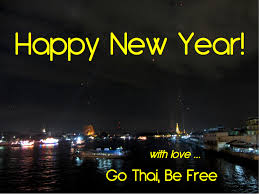 go thai be free in the new year thai style