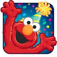 elmo birthday elmo birthday bash app icon mobile ui elmo