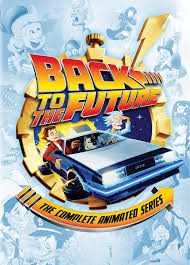 cartoon car back amazon com back to the future the complete animated series