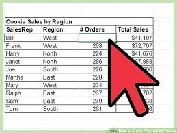 create pivot table excel 2010 how to make a pivot table in excel 2010 image titled create pivot