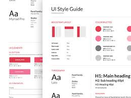 40 great examples of ui style guides brand guidelines and ui kit
