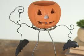 halloween clay jack o lantern woodwaves