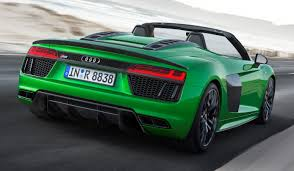the audi r8 spyder v10 plus myautoworld com