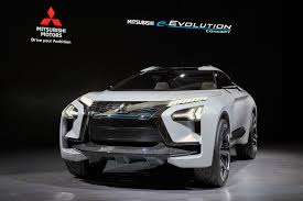 new mitsubishi evo 2017 evo name returns on mitsubishi e evolution suv concept autocar
