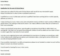 nurse cover letter example u2013 cover letters and cv examples
