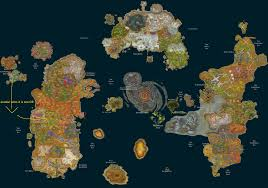 Wow Kalimdor Map Each Race In A Free For All Open War Who Wins Page 14