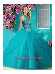 fifteen dresses halter top beaded and applique sweet fifteen dresses in orange