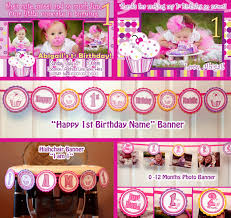 Diy 1st Birthday Centerpiece Ideas 1st Birthday Theme For Girls Decorating Of Party