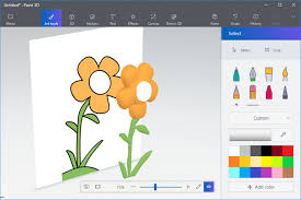 how to turn a 2d drawing into 3d art in paint 3d
