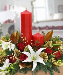a holiday centerpiece
