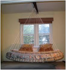 double hammock bed indoor bedroom home decorating ideas