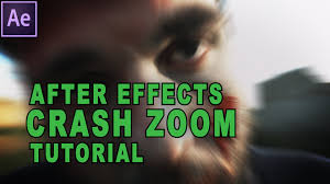 after effects tutorial how to do a crash zoom youtube