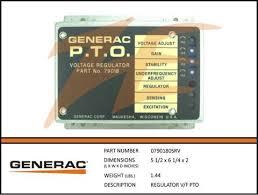 generac voltage regulators u2013 ziller electric