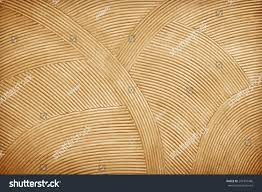 rattan wall decorative background stock photo 257347486