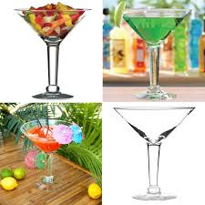 martini glass with umbrella libbey 44oz b i g big interesting glass giant martinis cocktails