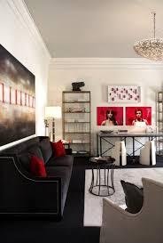 Decor Pad Living Room by Black Velvet Sofa Contemporary Living Room Dillard Design