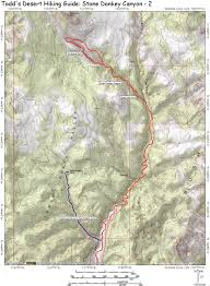Escalante Utah Map by Stone Donkey Canyon