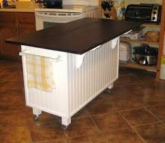 dresser kitchen island dishfunctional designs upcycled awesome kitchen islands made