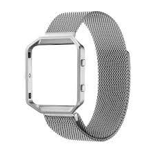 Silver Accessories Amazon Com Fitbit Blaze Accessory Band Small 5 5 6 7 In Oitom