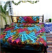 Tie Dye Comforter Set Hippie Bedding Ebay