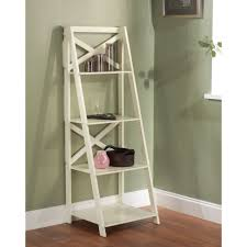furniture home antique white bookcase with glass doors riverside