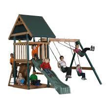 backyard play set image with appealing big backyard ashford play