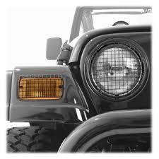 97 jeep wrangler parts exterior rugged ridge om 11236 01 rugged ridge mesh light