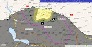 Syracuse Map The Kobane Front Latest Map Similar To Warsaw 1945 Reader