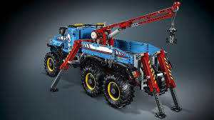 lego technic bucket wheel excavator 42070 6x6 all terrain tow truck products lego technic lego